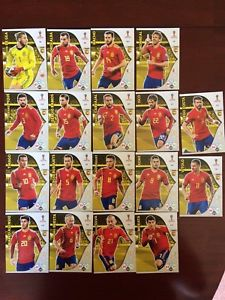 トレーディングカード・テレカ, トレーディングカード  panini adrenalyn xl world cup2018 spain 18card setpanini adrenalyn xl world cup 2018 spain 18 card set