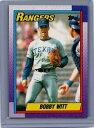 【送料無料】スポーツ メモリアル カード 1990トップス166ボビーウィットテキサスレンジャーズ1990 topps 166 bobby witt texas rangers