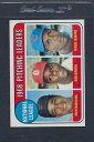 【送料無料】スポーツ メモリアル カード #ピッチングマウント1969 topps 010 nl pitching leaders exmt *3188