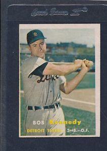【送料無料】スポーツ メモリアル カード #ボブケネディタイガース1957 topps 149 bob kennedy tigers vgex 57t149821161