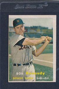 【送料無料】スポーツ メモリアル カード #ボブケネディタイガース1957 topps 149 bob kennedy tigers vgex 57t149821162