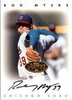【送料無料】スポーツ メモリアル カード 1996165ロドニーマイヤーズサイン1996 leaf signature autographs gold 165 rodney myers auto