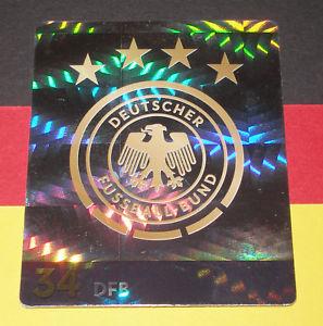 ホビー・スポーツ・美術, トレーディングカード  nr 34dfbrewe dfb world cup 2018rewe dfb world cup 2018 in russia glitter card nr 34 dfb logocrest glitter