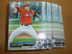【送料無料】スポーツ メモリアル カード 2017trevor rogers marlins base paper lotof 75 cardsbd532017 bowman draft trevor rogers marlins base paper lot of 75 cards