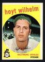 【送料無料】スポーツ メモリアル カード hoyt wilhelmコウライウグイス1959 topps349 exmintmcocnicecorners no creaseshoyt wilhelm orioles 1959 topps 349 exmint mcoc nice