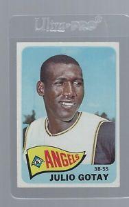 【送料無料】スポーツ メモリアル カード 1965トップス552フリオgotaynm1965 topps 552 julio gotay, angels, high number nm