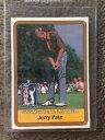 【送料無料】スポーツ メモリアル カード リーダー1981donrussゴルフジェリーサイン1981 donruss golf jerry pate statistical leader signed autograph