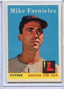 【送料無料】スポーツ メモリアル カード ミント3611958トップスベースボールカードマイクfornielesボストンレッドソックス1958 topps baseball card mike fornieles boston red sox near mint 361