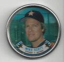 【送料無料】スポーツ メモリアル カード マイクスコットメタルコイン#アストロズmike scott 1988 topps metal coin 54 astros