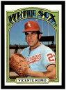 【送料無料】スポーツ メモリアル カード #1972 topps baseball 499 vincente romo