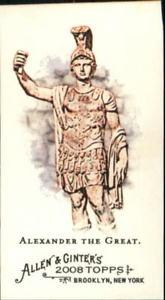 【送料無料】スポーツ メモリアル カード アレンミニアイコンアレクサンドロスy3871 2008 topps allen and ginter mini ancient icons a7 alexander the great