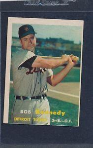 【送料無料】スポーツ メモリアル カード #ボブケネディタイガース1957 topps 149 bob kennedy tigers vgex 57t1491115151