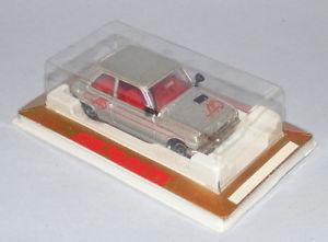 車・バイク, レーシングカー  majorette 257 renault 5 alpine silver clear windows vintage 1980s mint boxed