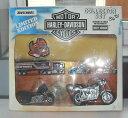 【送料無料】模型車モデルカースポーツカーヴィンテージマッチハーレーダビッドソンコレクタポスターvintage 1990s rare boxed matchbox harley davidson collector set with poster