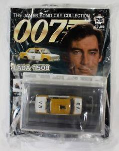 【送料無料】模型車 モデルカー スポーツカー ジェームズボンドカーコレクションリビングラダjames bond car collection 007 issue 26 lada 1500 the living daylights