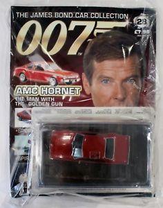 【送料無料】模型車 モデルカー スポーツカー ジェームズボンドカーコレクションスズメバチjames bond car collection 007 issue 28 amc hornet amp; sealed