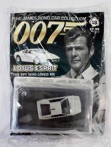【送料無料】模型車 モデルカー スポーツカー ジェームズボンドカーコレクションロータスエスプリjames bond car collection 007 issue 16 lotus esprit