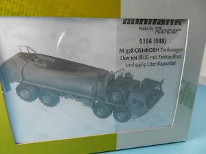 【送料無料】模型車 モデルカー スポーツカー ロコインミニタンクキットオシュコシュタンクサポートroco minitanks bausatz 5166 m978 oshkosh tankagen 10t 187