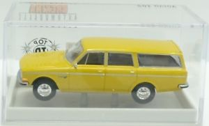 【送料無料】模型車 モデルカー スポーツカー ボルボステーションワゴンマスタードイエローbrekina nr29450 volvo 145 kombi senfgelb ovp