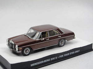 車・バイク, レーシングカー  eaglemoss james bond collection mercedesbenz 200 d for your eyes only 143