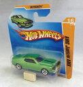 【送料無料】模型車 モデルカー スポーツカー プレミアhotwheels amc javelin amx green hw premiere