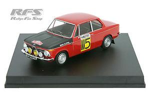 【送料無料】模型車 モデルカー スポーツカー スロットメーカーモンテカルロラリーbmw 2002 ti slotemaker rallye monte carlo 1969 143 trofeu 1708