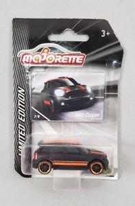 車・バイク, レーシングカー  majorette mini cooper s ovp mint on card