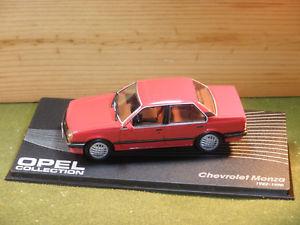 【送料無料】模型車 モデルカー スポーツカー シボレーモンツァドアセダンボクソールキャバリエスケールchevrolet monza vauxhall cavalier saloon 4 door in red 143rd scale
