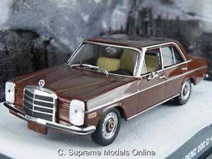 【送料無料】模型車 モデルカー スポーツカー メルセデスベンツジェームスボンドサイズブラウンmercedes benz 200d james bond octopussy 143 size brown colour example t3412z