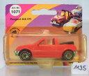【送料無料】模型車モデルカースポーツカープジョーカブリオレレッド#siku nr 1071 peugeot 205 cti cabriolet rot nr 1 ovp 1135