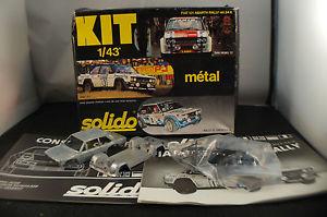 車・バイク, レーシングカー  ksolido kit metal ref54k fiat 131 abarth rallye rare 143 boxeden boite