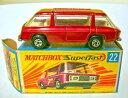 【送料無料】模型車 モデルカー スポーツカー マッチボックスコミューターメタリックレッドmatchbox sf nr22b freemen inter city c..