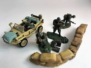 車・バイク, レーシングカー  forces of valor german schwimmwagen type 166 1944 amp; figure lot 132 unimax