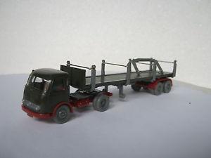 【送料無料】模型車 モデルカー スポーツカー ホオリーブグリーンwiking ho187 5181 pullmann rungensattelzug olivegrn ca444145r1128