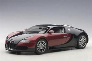 【送料無料】模型車 モデルカー スポーツカー ブガッティ#bugatti veyron eb 164 2006 car 001 rotschwarz 118 70909 autoart