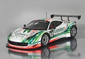 【送料無料】模型車 モデルカー スポーツカー カスペルスキーフェラーリグアテマラチームferrari 458 gt3 team kaspersky 2015 118 p18118kasp17 bbr