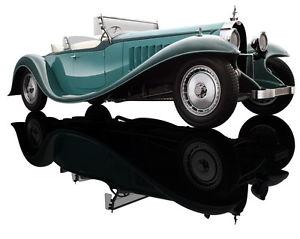 【送料無料】模型車 モデルカー スポーツカー トーングリーンロードスターブガッティロワイヤルバウアーbugatti royale roadster esders 2tone green 1932 bauer 118 1990tz68
