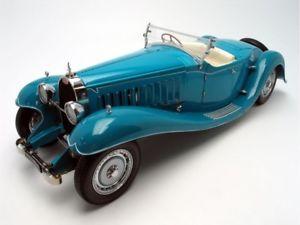 【送料無料】模型車 モデルカー スポーツカー ロードスターブガッティロワイヤルバウアーモデル118 bugatti royale roadster esders 1932 hb1990tz68 bauer models ovp neu