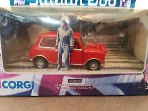 【送料無料】模型車 モデルカー スポーツカー コーギーイタリアジョブミニノートパソコンcorgi cc82215 the italian job red mini rare 2002 collectable