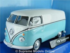 【送料無料】模型車 モデルカー スポーツカー vw volkswagen t1 transporter van 143rd turquoise split screen version r0154x{}
