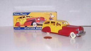 【送料無料】模型車 モデルカー スポーツカー ダイムストアプラスチックステーションワゴン#ロットdime store dreams 143 plastic station wagon 20060 nos lot n1852