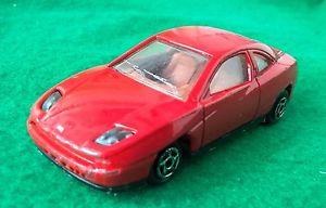 車・バイク, レーシングカー  majorette fiat coupe nr 201 158 158 rar rot red 90er jahre pininfarina