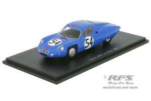 【送料無料】模型車 モデルカー スポーツカー アルパインルノールマンビダルグランドスパークalpine renault m64 24h le mans 1964 vidal grandsire 143 spark 5682