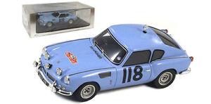【送料無料】模型車 モデルカー スポーツカー スパークモンテカルロラリーロブスロットメーカースケールspark s1406 triumph spitfire monte carlo rally 1965 rob slotemaker 143 scale