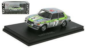 【送料無料】模型車 モデルカー スポーツカー サーブノーマンセーヌスパスケールラリーtrofeu saab 99 ems rally winner boucles de spa 1976 stig blomqvist 143 scale