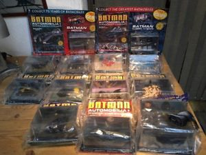 車・バイク, レーシングカー  unopened batman eaglemoss automobilia diecast model collection x 12