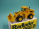 【送料無料】模型車 モデルカー スポーツカー ホイールローダトップnzg 237 150 radlader cat 966d topovp