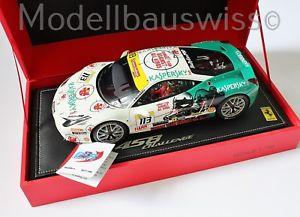 【送料無料】模型車 モデルカー スポーツカー フェラーリチャレンジ#ferrari 458 challenge kaspersky 113 bbr p1847 118 118 1zu18 selten rar top