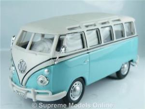 車・バイク, レーシングカー  volkswagen samba bus 143rd size turquoise model classic version bxd r0154x