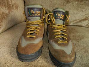 【送料無料】キャンプ用品 レディースレザーブラウンアメリカブーツハイキングladies hitec 50 peaks hiking boots waterproof leather brown usa 6 eu 36 uk35 vg